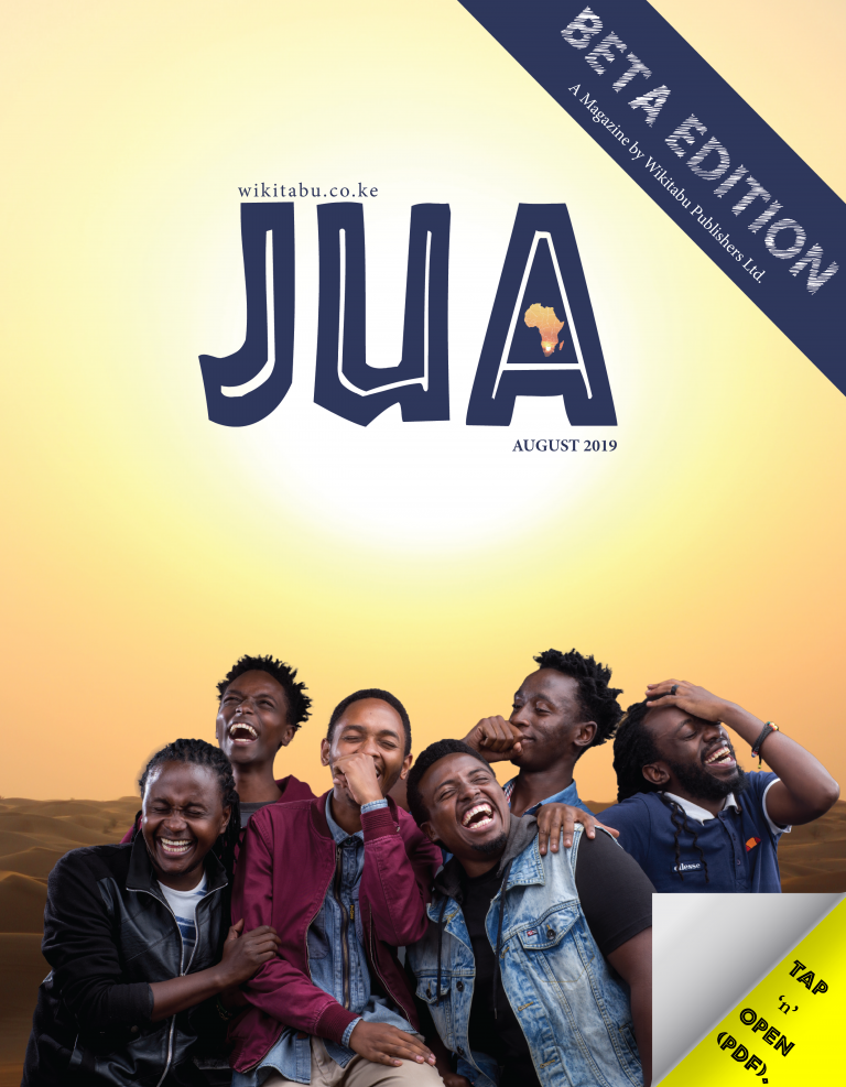 JUA - Beta Edition by Wikitabu Publishers COVER